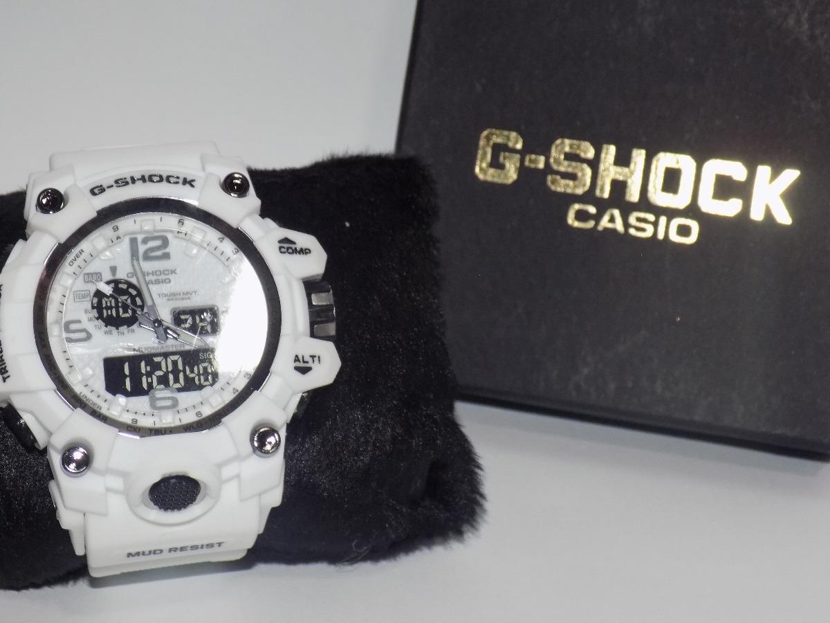 af69890a1ae relógio masculino g shock branco barato resistente a agua. Carregando zoom.