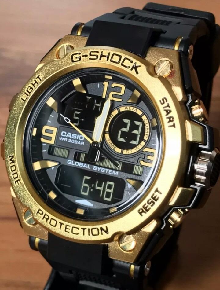 8be822d7a7c Relógio Masculino G-shock Caixa De Aço Kit C 3+frete Gratis - R  300 ...