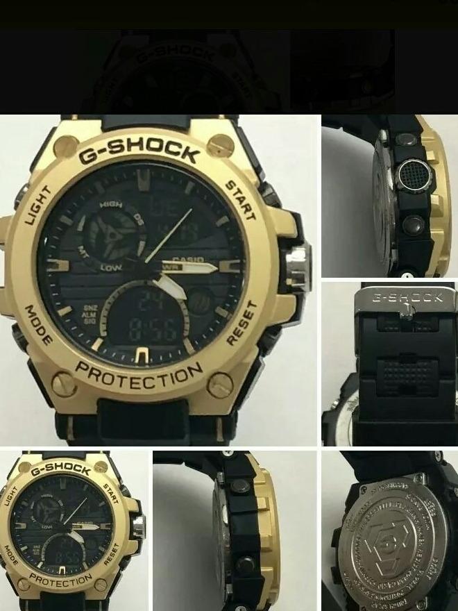 f381c5ec675 Relógio Masculino G-shock Caixa De Aço Kit C 3+frete Gratis - R  300 ...