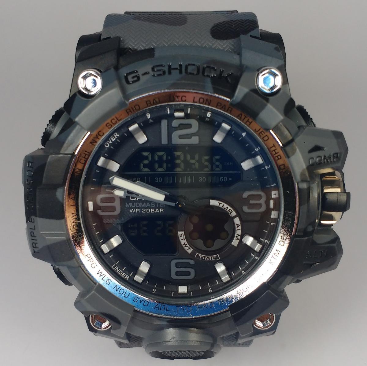 b5ca82da689 relógio masculino g shock camuflado cinza frete grátis. Carregando zoom.