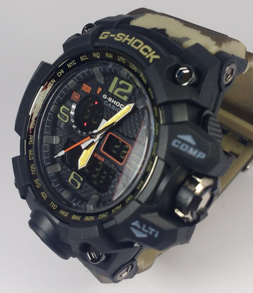 4cd80e8ea34 relógio masculino g shock camuflado promoção. Carregando zoom.