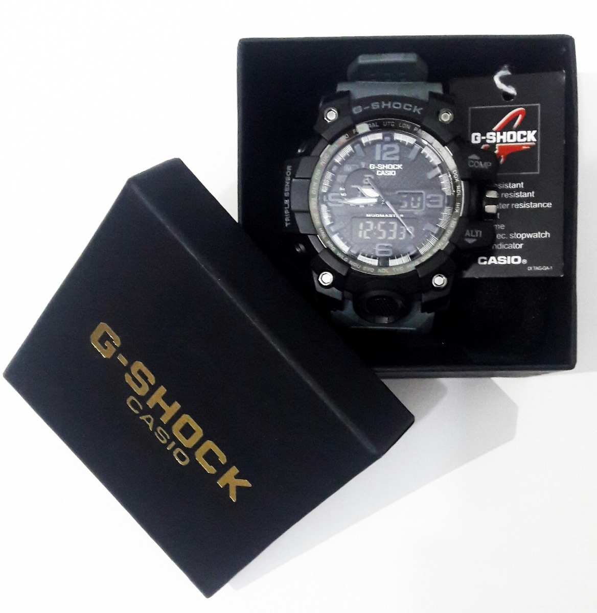 4a3bf6acf79 relógio masculino g-shock casio prova d água camuflado top. Carregando zoom.