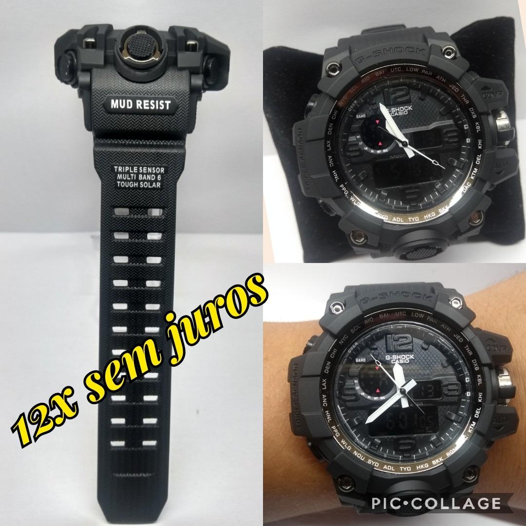 2b757c98ad4 Relógio Masculino G-shock Esportivo Preto Prova D`agua+caixa - R  68 ...