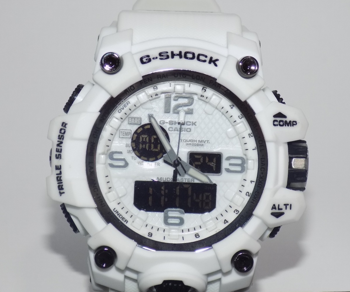 bbd40594fae relógio masculino g shock importado analógico digital branco. Carregando  zoom.