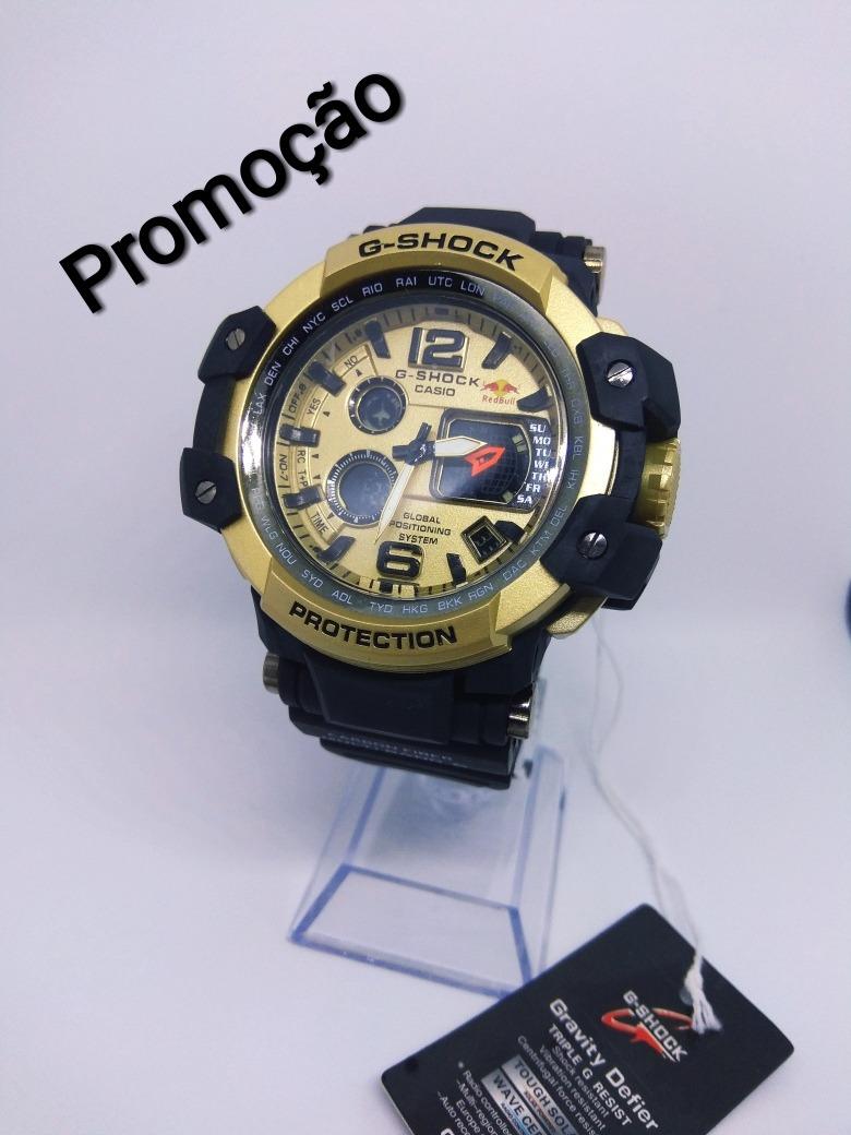 4a2d0ffcf15 relógio masculino g-shock red bull automático promoção. Carregando zoom.