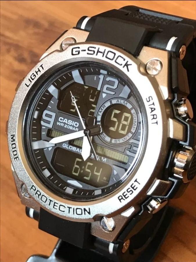 1cc8f944f45 relógio masculino g shock steel aço promoção. Carregando zoom.