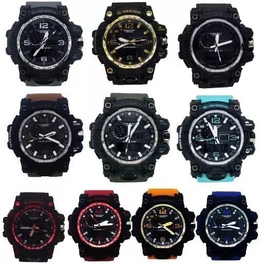 2e67c85dddb Relógio Masculino G-shok. Casio Prova D água. Vários Modelos - R ...