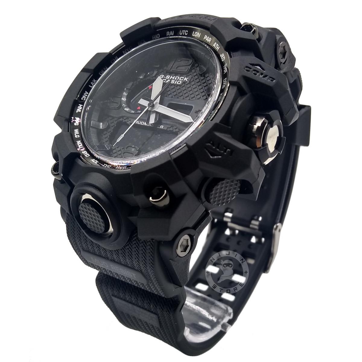 6546f793f02 relógio masculino g-shók preto digital militar promoção. Carregando zoom.