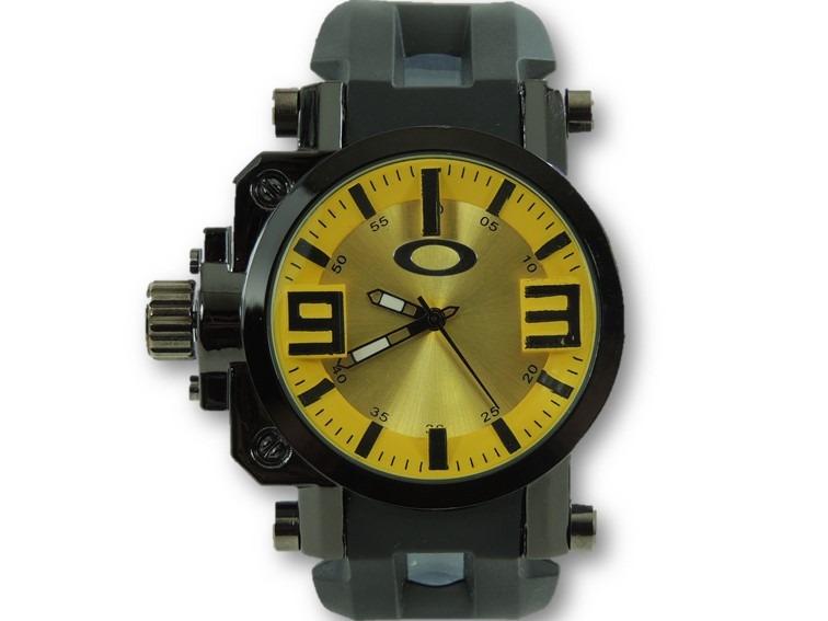 149c09fda68 Relógio Masculino Gearbox Pulseira De Borracha Barato - R  49