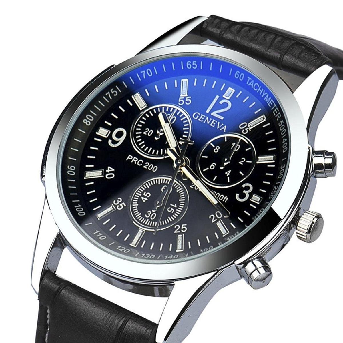 7239470359a relógio masculino geneva pulso clássico frete grátis barato. Carregando  zoom.