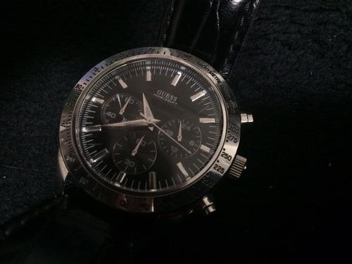 relógio masculino guess com cronógrafo
