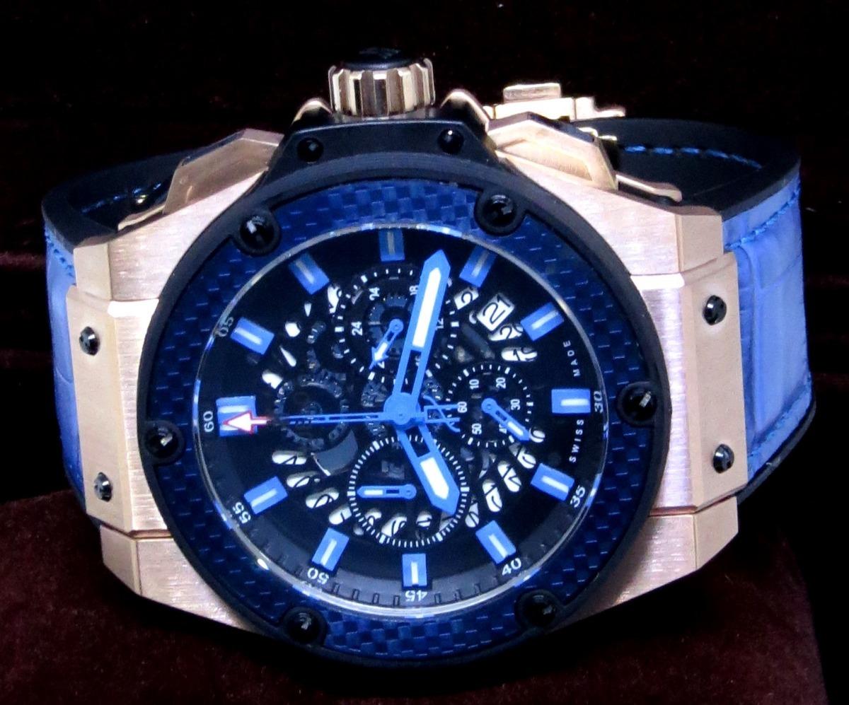 7f9a3b639dd Relógio Masculino Hubl Big Bang King Grife Luxo Fréte Grátis - R ...