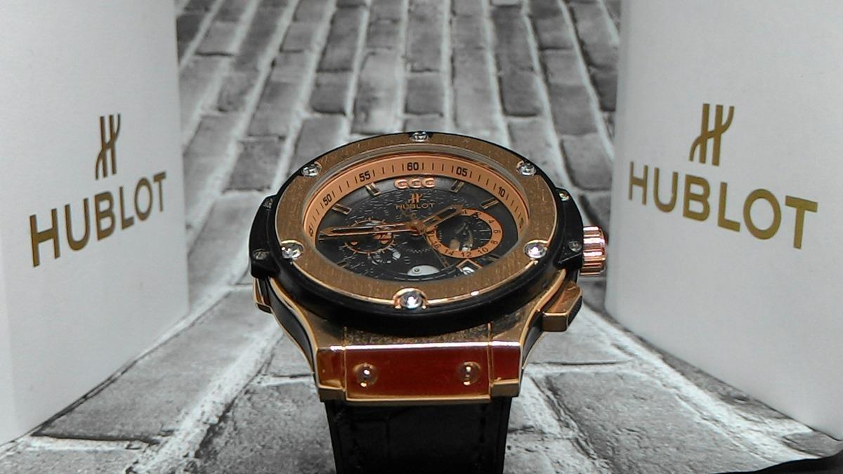 b08b8900ab6 relógio masculino hublot geneve big bang  ggg top. Carregando zoom... relógio  masculino hublot. Carregando zoom.