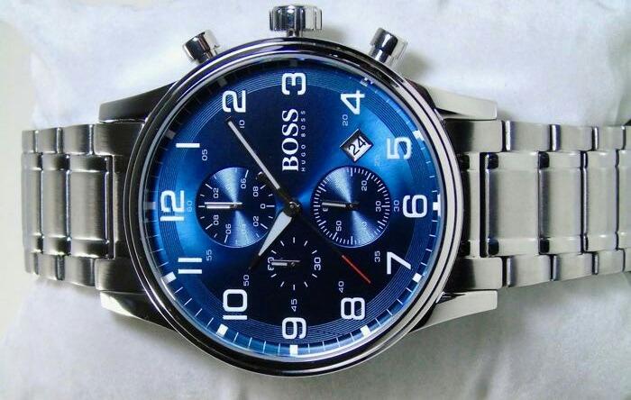 5a2c47ba1b5 Relógio Masculino Hugo Boss Aeroliner Cronógrafo 1513183 - R  1.338 ...