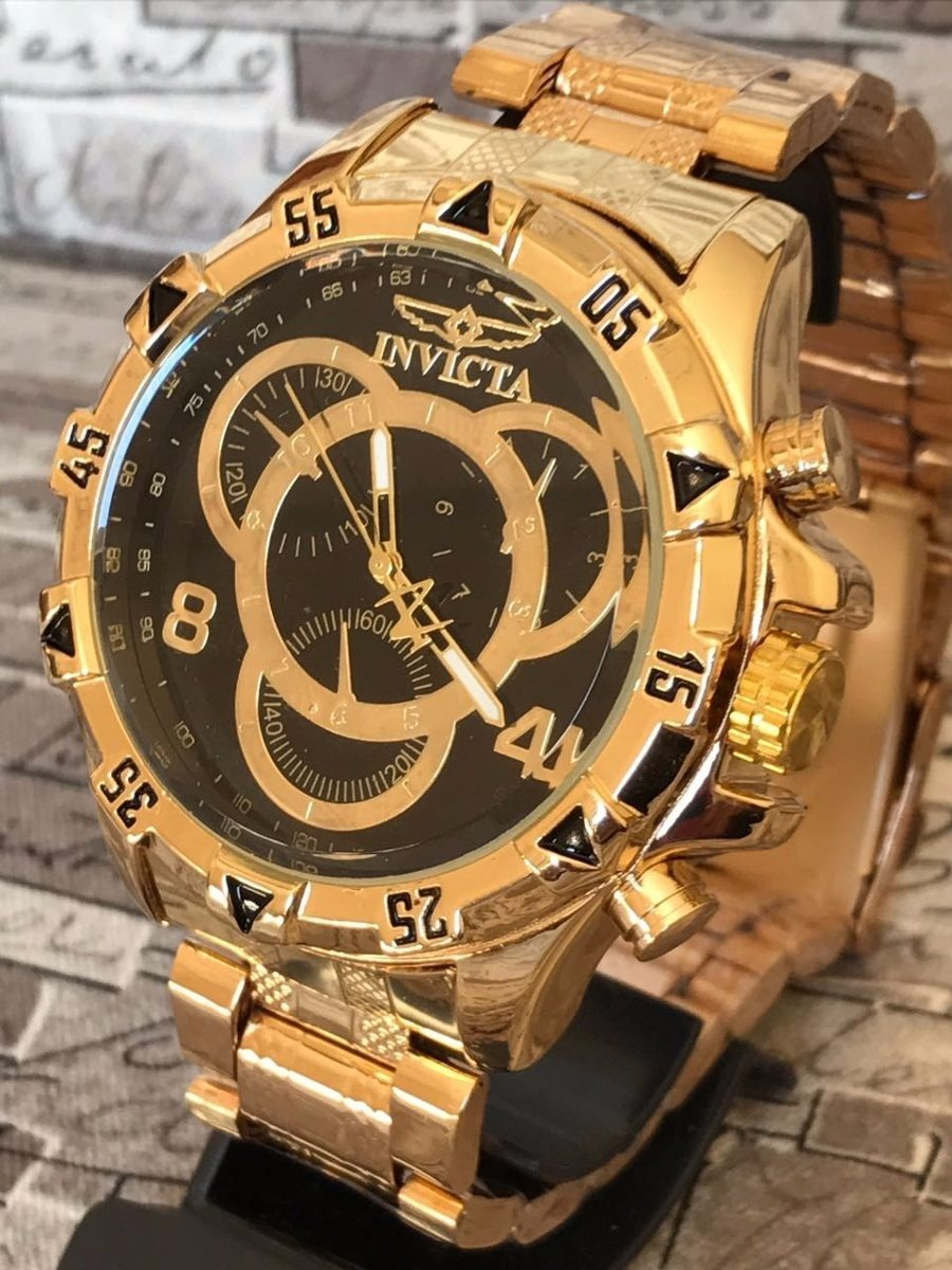 68dfcc3ad69 relógio masculino importado dourado relógio promoção!!! Carregando zoom.