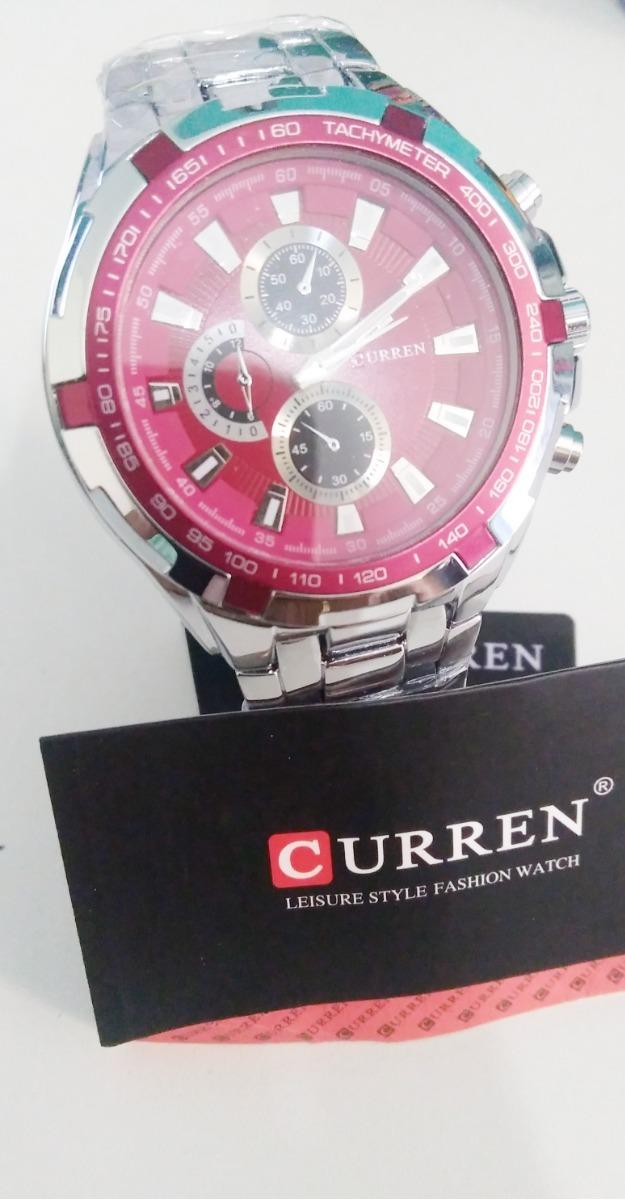 8df5d680956 relógio masculino importado inox aço original promo barato. Carregando zoom.