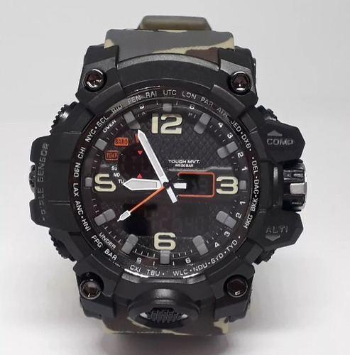 relógio masculino importado resistente água- c/caixa brinde