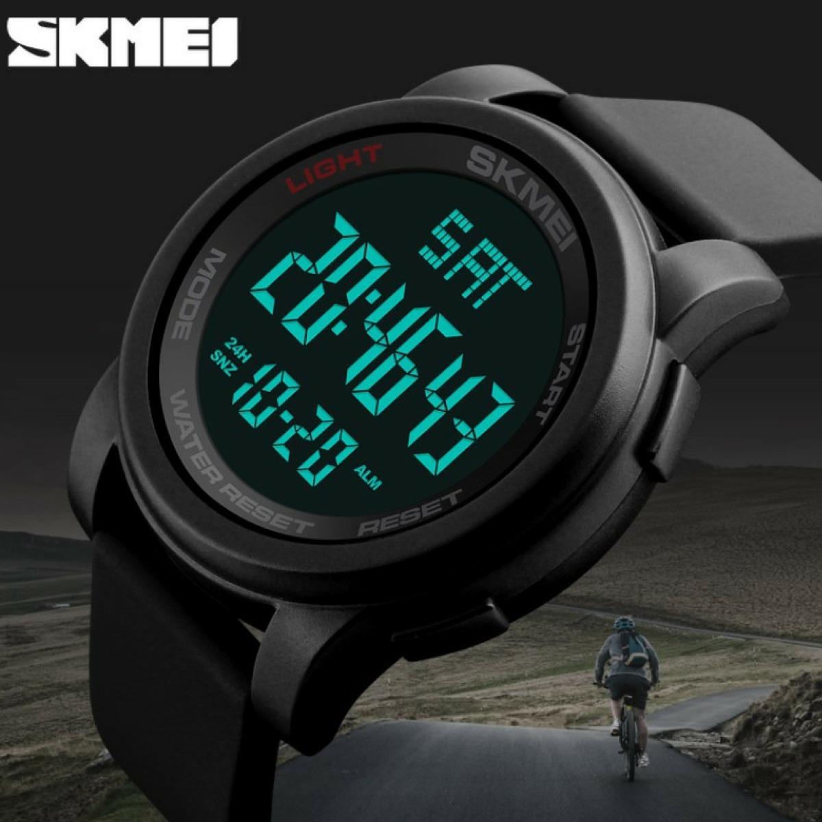 7cadc591a94 relógio masculino importado skmei marca chinesa luxo barato. Carregando zoom .