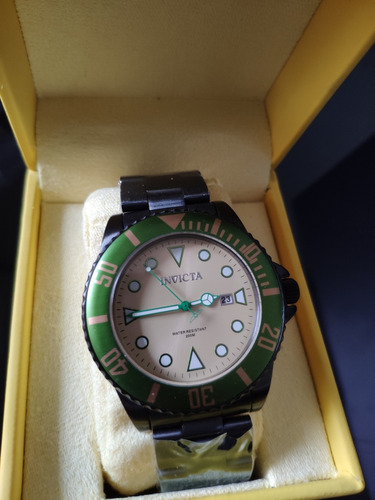 relógio masculino invicta 90298 - original novo na embalagem