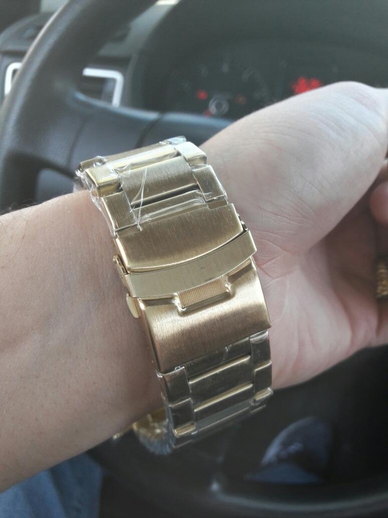 4d8706b8ab6 Carregando zoom... 4 invicta relógio masculino barato digital f. dourado  pulseira