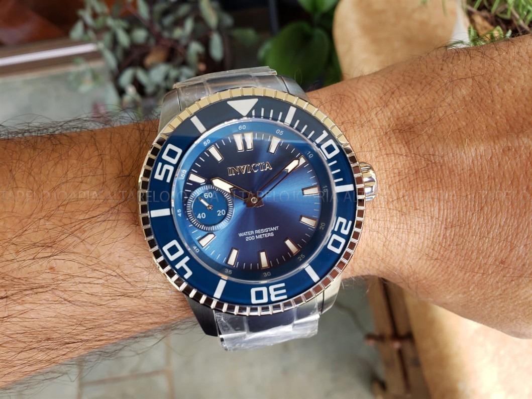 3e399c48760 relógio masculino invicta pro diver 22481 suíço corda manual. Carregando  zoom.