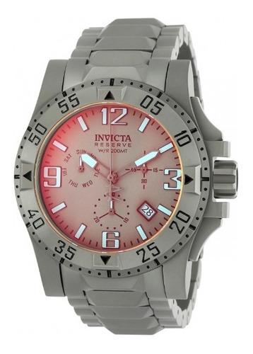 relógio masculino invicta reserve excursion 49.5mm 25044