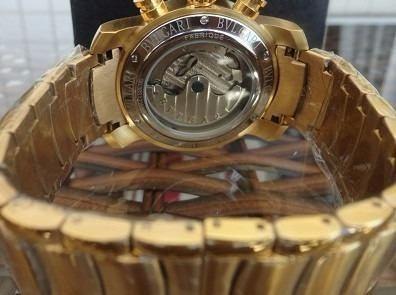 dc7876d2209 Relógio Masculino Iron Man Automático Dourado - R  389