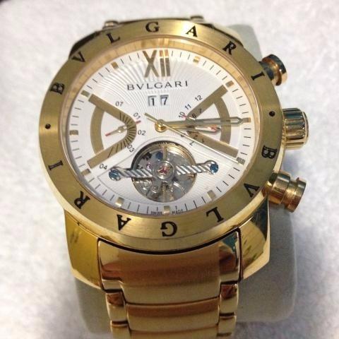 9bc672d4573 Relógio Masculino Iron Man Automático Dourado branco - R  389