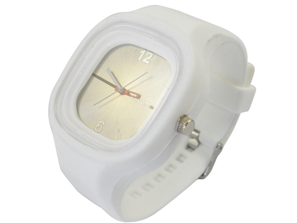 cd6e9816ac7 relógio masculino jelly ss.com branco pulseira silicone. Carregando zoom.