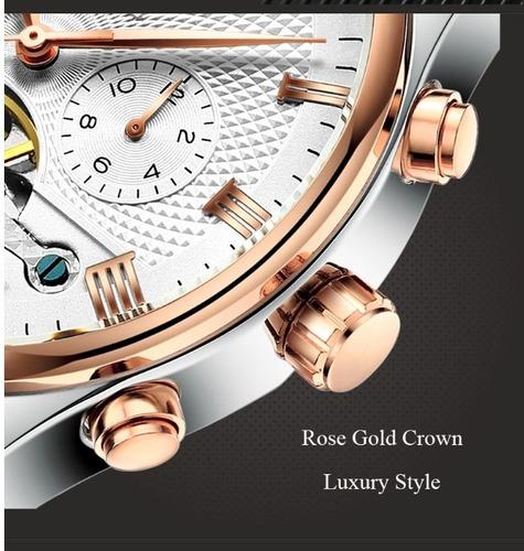 relógio masculino  kinyued automático de luxo original