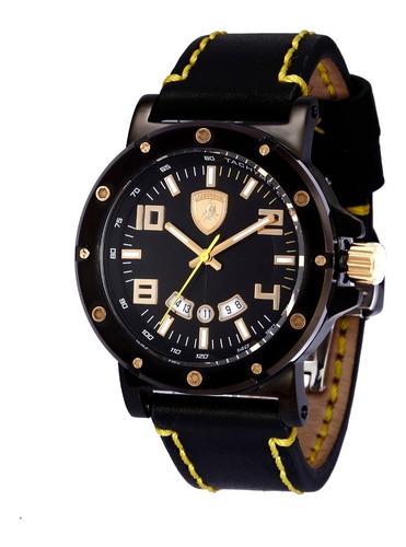 relógio masculino lamborghini lb90044252m ferruccio original