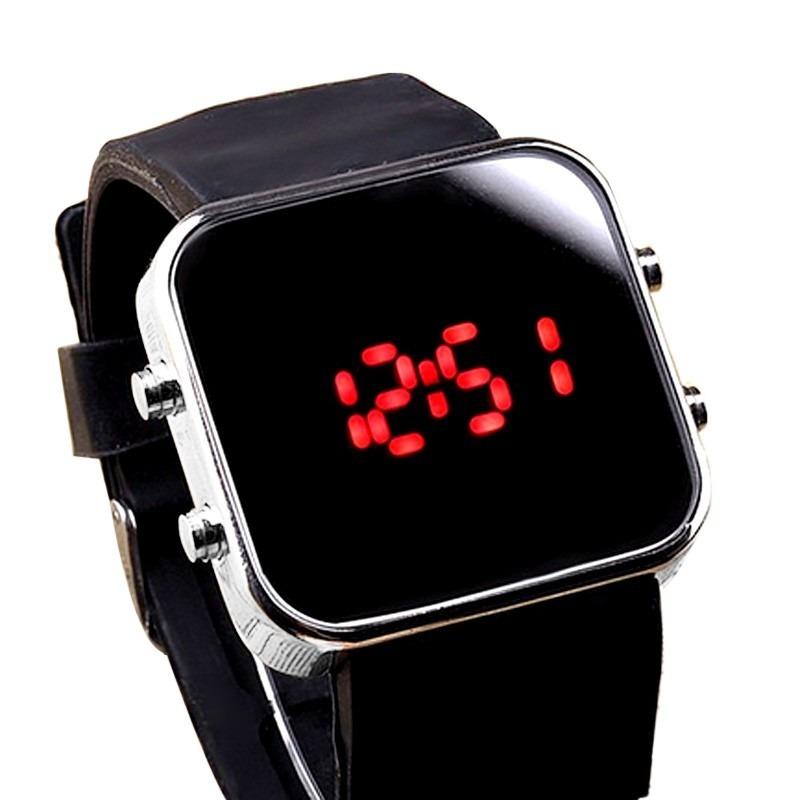c9a7471fb77 relógio masculino led espelho de pulso digital barato. Carregando zoom.