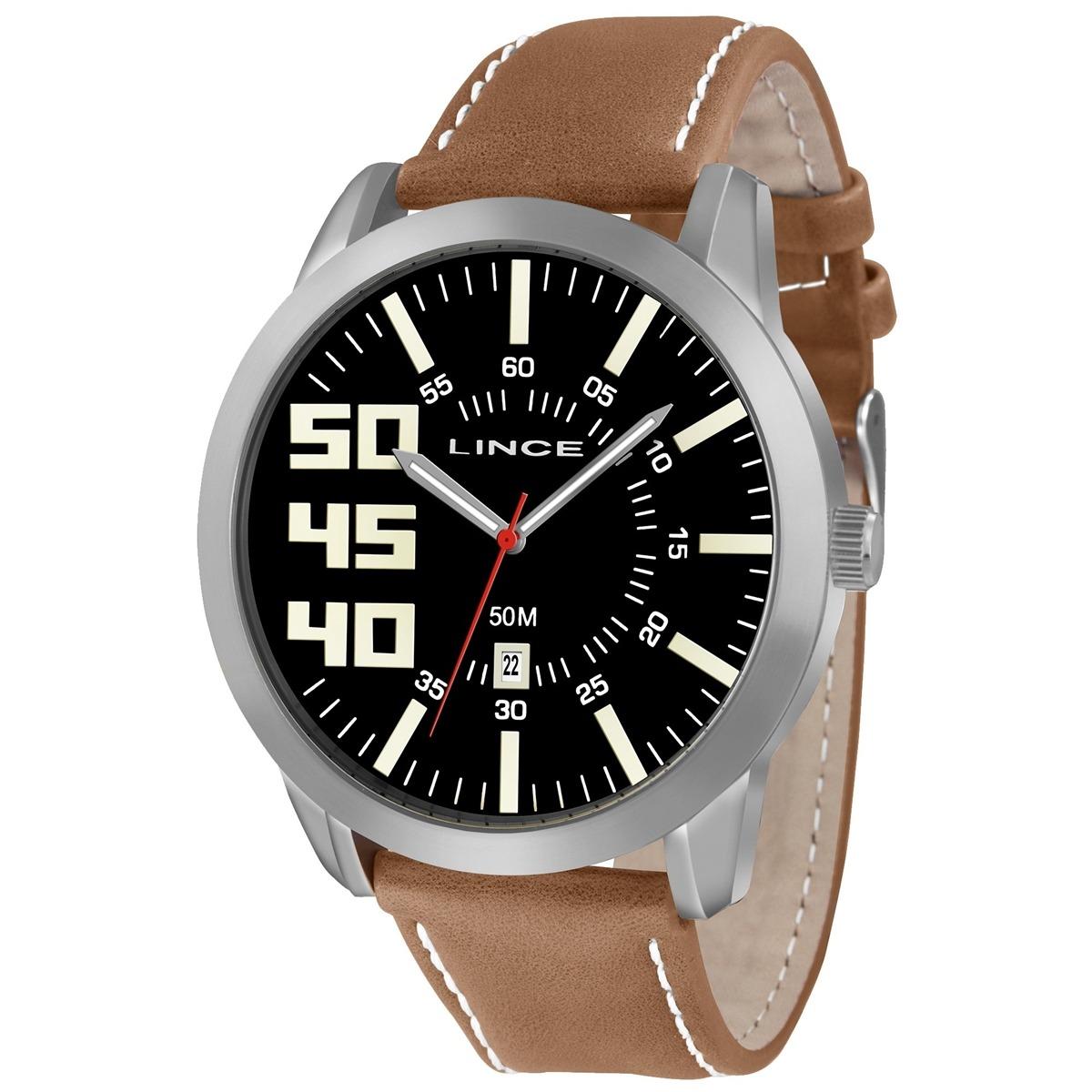47b05576d6f Relógio Masculino Lince Mrc4332s P2mb Prata - R  211