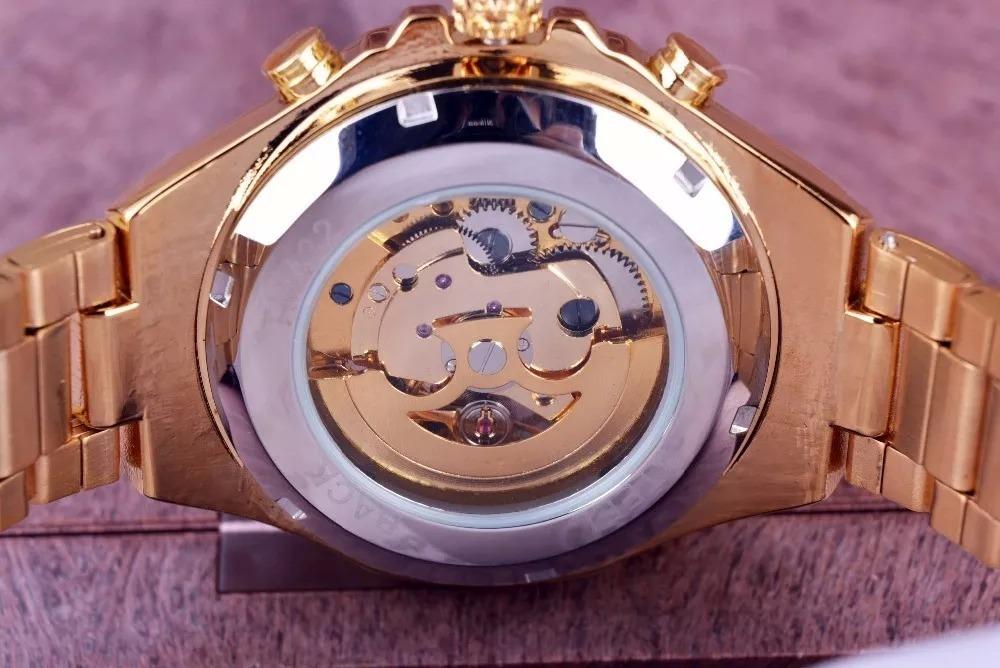 61d209c011bfd relógio masculino luxo automático esqueletizado frete grátis. Carregando  zoom.