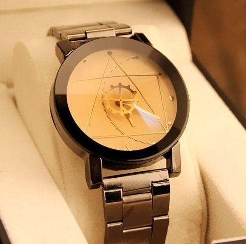 relógio masculino luxo e casual