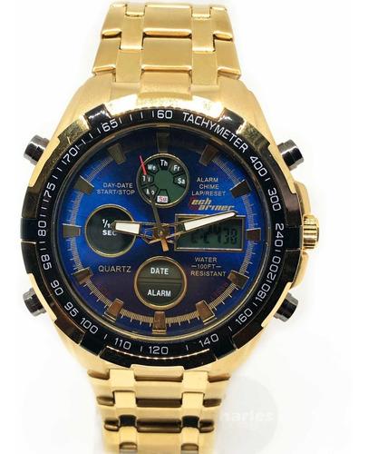 relógio masculino luxo mariner original aprova dágua robusto