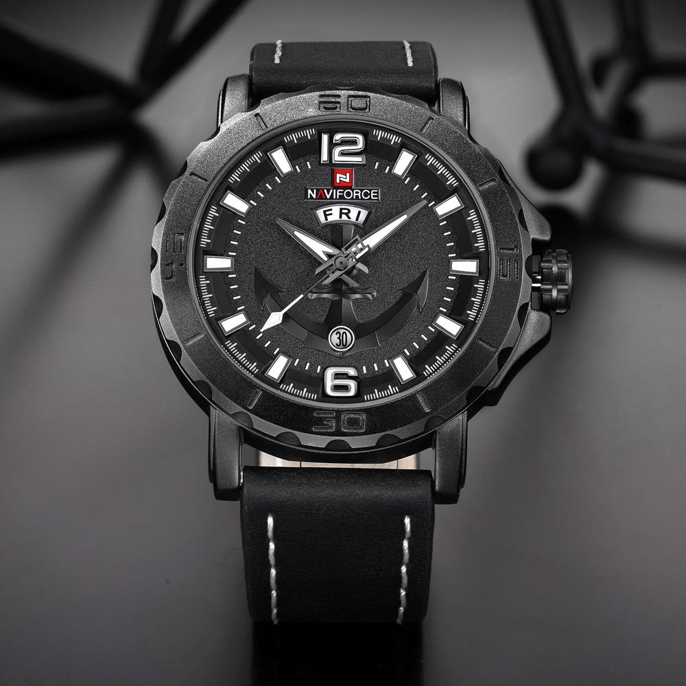 b0f716fc51606 relógio masculino luxo naviforce 9112 a prova d agua barato. Carregando  zoom.