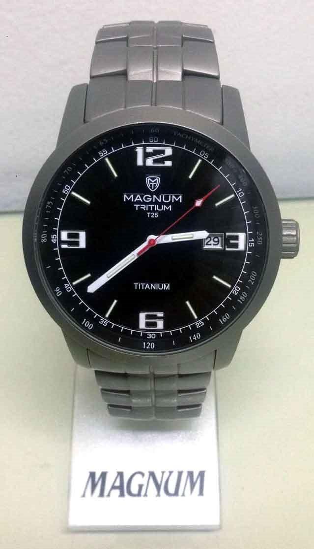 802659cc0a9 Relógio Masculino Magnum Titanium Mt30106t - R  790