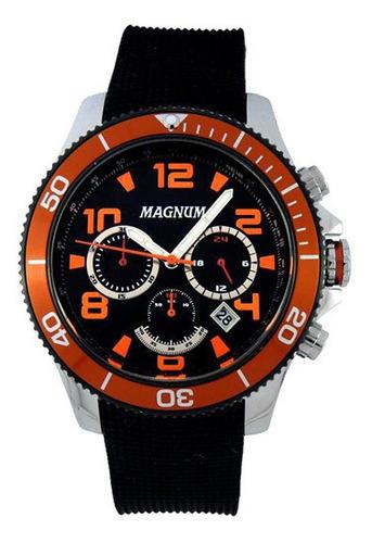 relógio masculino magnum analógico esportivo ma33308j