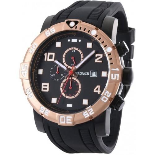 668c444702b Relógio Masculino Magnum Racing Cronógrafo Ma34174d - R  597