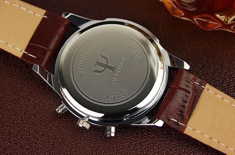 ecc345470c0 relógio social masculino de marca yazole (importado) barato · relógio  masculino marca. Carregando zoom.