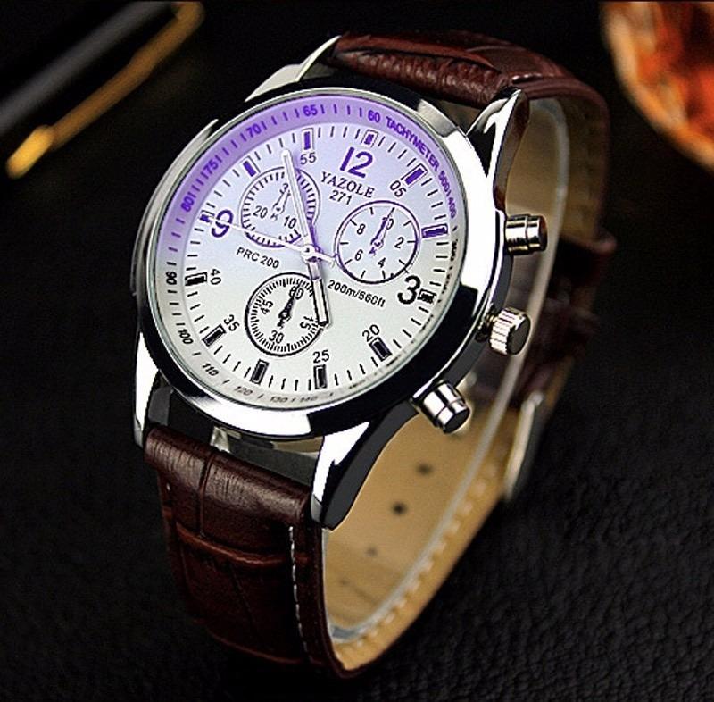 4fac5876f67 relógio social masculino de marca yazole (importado) barato. Carregando  zoom... relógio masculino marca. Carregando zoom.