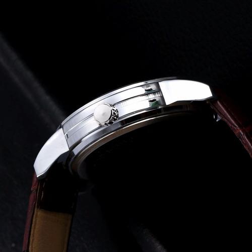 03d3b4f8a6b relógio masculino marrom analógico quartz barato e bonito. Carregando zoom.