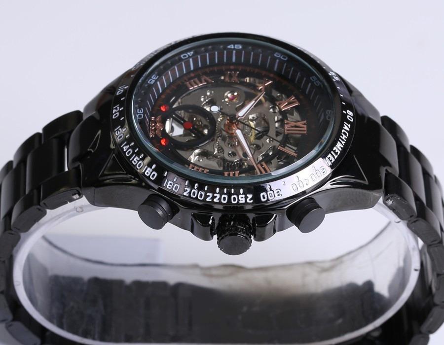 7ba09f26fda relógio masculino mecânico artesanal maquinário feito a mão. Carregando zoom .