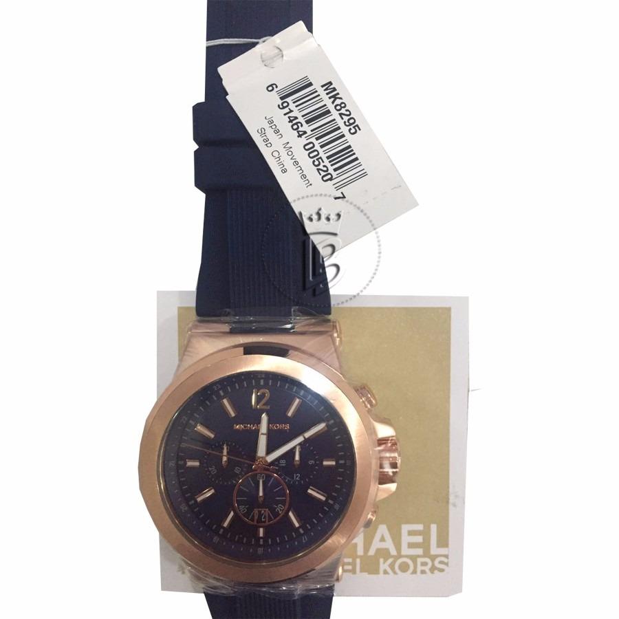 relógio masculino michael kors mk8295 social azul, original. Carregando  zoom. c47943fada