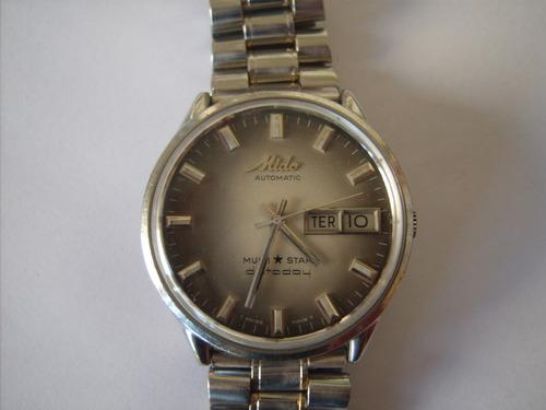 relógio masculino mido multi star datoday=seiko,tissot,casio