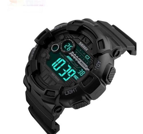 relógio masculino militar esportivo digital a prova d'água