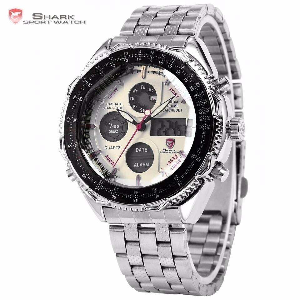 c98c93bd34d Relógio Masculino Militar Esportivo Digital Shark Original - R  159 ...