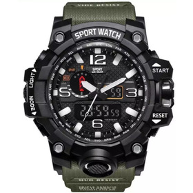 Relógio Masculino Militar Esportivo Digital Sport Whatc 1545