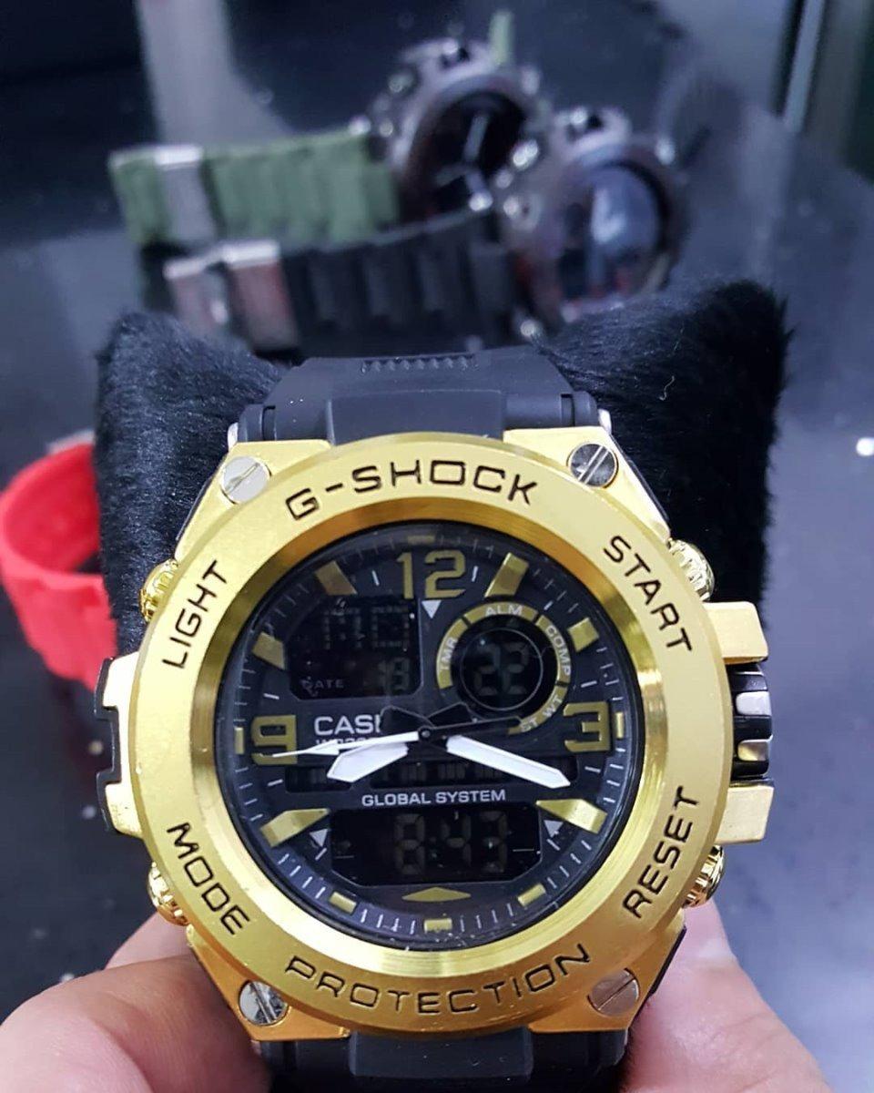 27a85aed7f0 relógio masculino militar esportivo dourado frete-gratis top. Carregando  zoom.